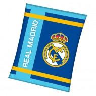 Patura polar FC Real Madrid 160x130 cm RM182017