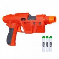 Pistol de jucarie Poe Dameron Nerf Glowstrike Star Wars