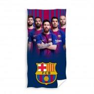 Prosop de baie echipa FC Barcelona 140x70 cm