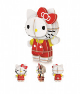 Puzzle 3D + Puzzle 104 piese Hello Kitty