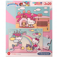 Puzzle Hello Kitty Clementoni 2x20 piese