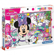 Puzzle Jewels Minnie Mouse Clementoni 104 piese