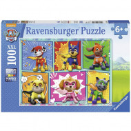 Puzzle Patrula Catelusilor Mighty Pups Ravensburger 100 piese
