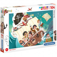 Puzzle The Pirates Clementoni 104 piese
