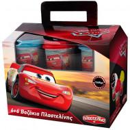 Set 12 cutii plastilina Cars