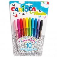 Set 12 pixuri colorate Fiorella
