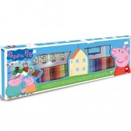 Set creativ cu 60 carioci Purcelusa Peppa