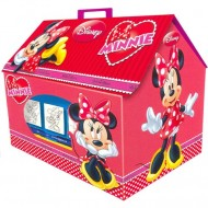 Set creativ de stampile in cutie Minnie Mouse