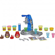 Set de joaca plastilina Drizzy Ice Cream Maker with Toppings Play Doh