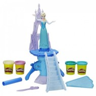 Set de joaca plastilina Elsa Enchanted Ice Palace Play Doh Frozen