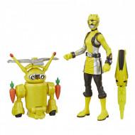 Set de joaca Yellow Ranger & Morphin Jax Beastbot Power Rangers Beast Morphers