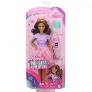 Set papusa Barbie satena cu accesorii Barbie Princess Adventure
