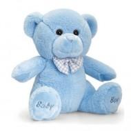 Ursulet de plus Baby Boy Keel Toys 25 cm
