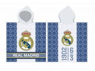 Prosop poncho FC Real Madrid 120x60 cm