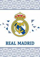 Patura polar FC Real Madrid 140x110 cm RM191065