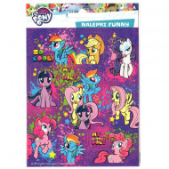 Abtibilduri My Little Pony Funny 16 bucati
