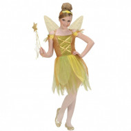 Costum Zana Padurii auriu Widmann 140 cm