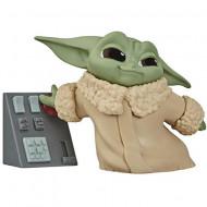 Figurina Baby Yoda cu terminal Mandalorian Star Wars
