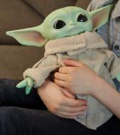 Figurina de plus Baby Yoda The Mandalorian Star Wars 28 cm