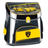 Ghiozdan ergonomic Easy compact Lamborghini galben 41 cm