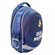 Ghiozdan ergonomic FC Real Madrid cu 3 compartimente 43 cm