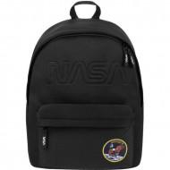 Ghiozdan rucsac laptop NASA negru 37 cm