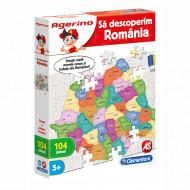 "Joc educativ ""Sa descoperim Romania"" Agerino Clementoni"