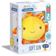 Jucarie de plus cu sunete Soft Sun Clementoni Baby