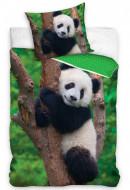 Lenjerie pat 2 piese 160x200 Panda Dream NL195020