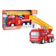 Masinuta de pompieri cu sunete si lumini City Service