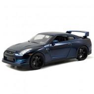 Masinuta metalica Brian's Nissan GT-R R35 Fast and Furious 21 cm