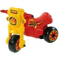 Motocicleta fara pedale Cross multicolor D Toys