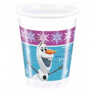 Pahare de plastic pentru petrecere Olaf Frozen