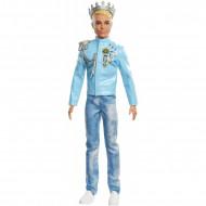 Papusa Ken print cu decoratii Barbie Princess Adventure