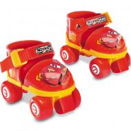 Patine cu rotile si echipament de protectie Cars 3 marime 22-29