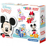 Puzzle 4 in 1 Minnie si Mickey Mouse Clementoni 30 piese