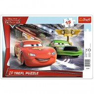 Puzzle Cars 2 Disney 15 piese