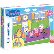 Puzzle de podea Purcelusa Peppa 40 piese