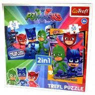 Puzzle Eroi in Pijama 2 in 1