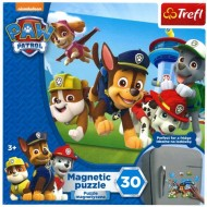 Puzzle magnetic Patrula Catelusilor 30 piese