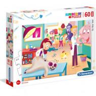 Puzzle Medic Veterinar Clementoni 60 piese