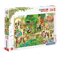 Puzzle Maxi Zoo Clementoni 24 piese