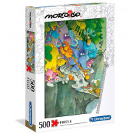 Puzzle Mordillo The Surrender Clementoni 500 piese