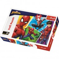 Puzzle Spiderman si Miguel 30 piese
