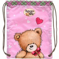 Sac de Umar Popcorn the Bear cu fundita