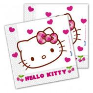 Servetele pentru petrecere Hello Kitty