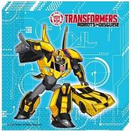 Servetele pentru petrecere Transformers