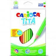 Set 36 creioane colorate Tita