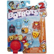Set 8 roboti transformabili Botbots Seria 1 Greaser Gang Transformers
