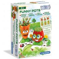 Set de joaca Experiment Funny Pots Clementoni